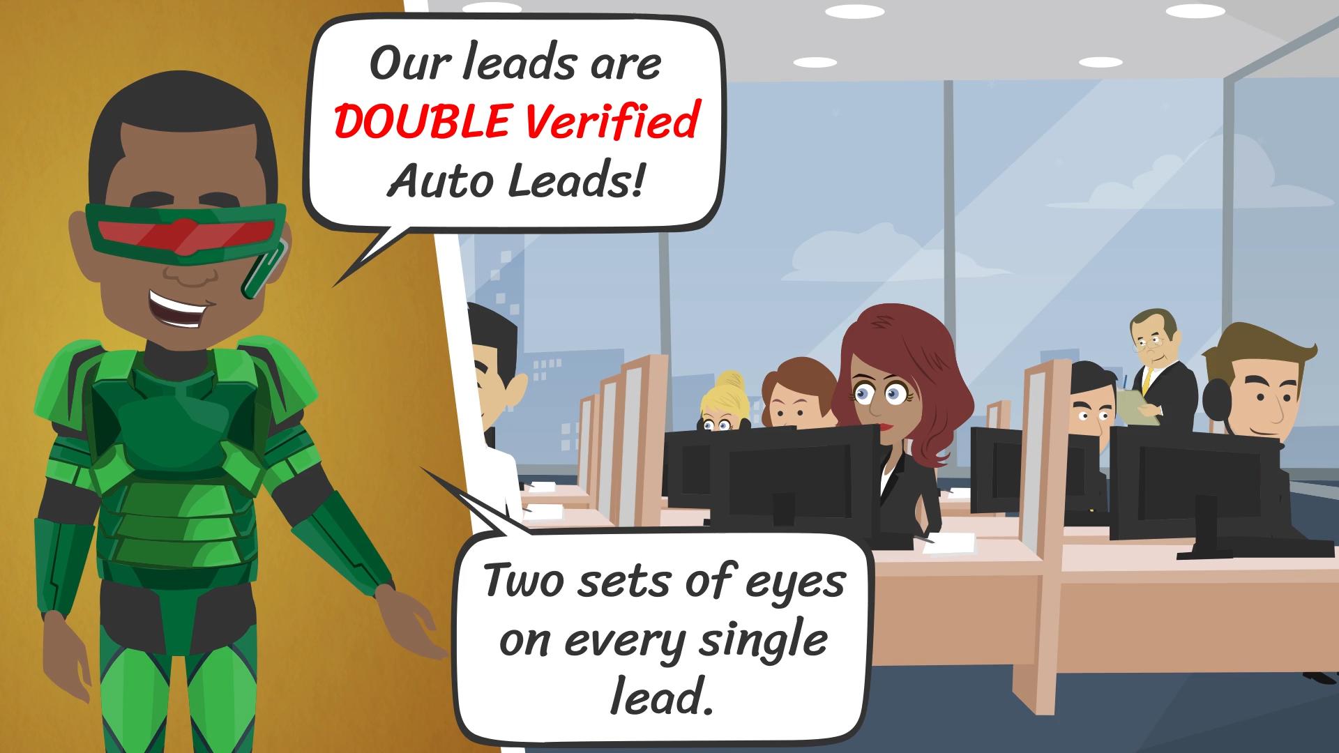 Double Verified Auto Lead