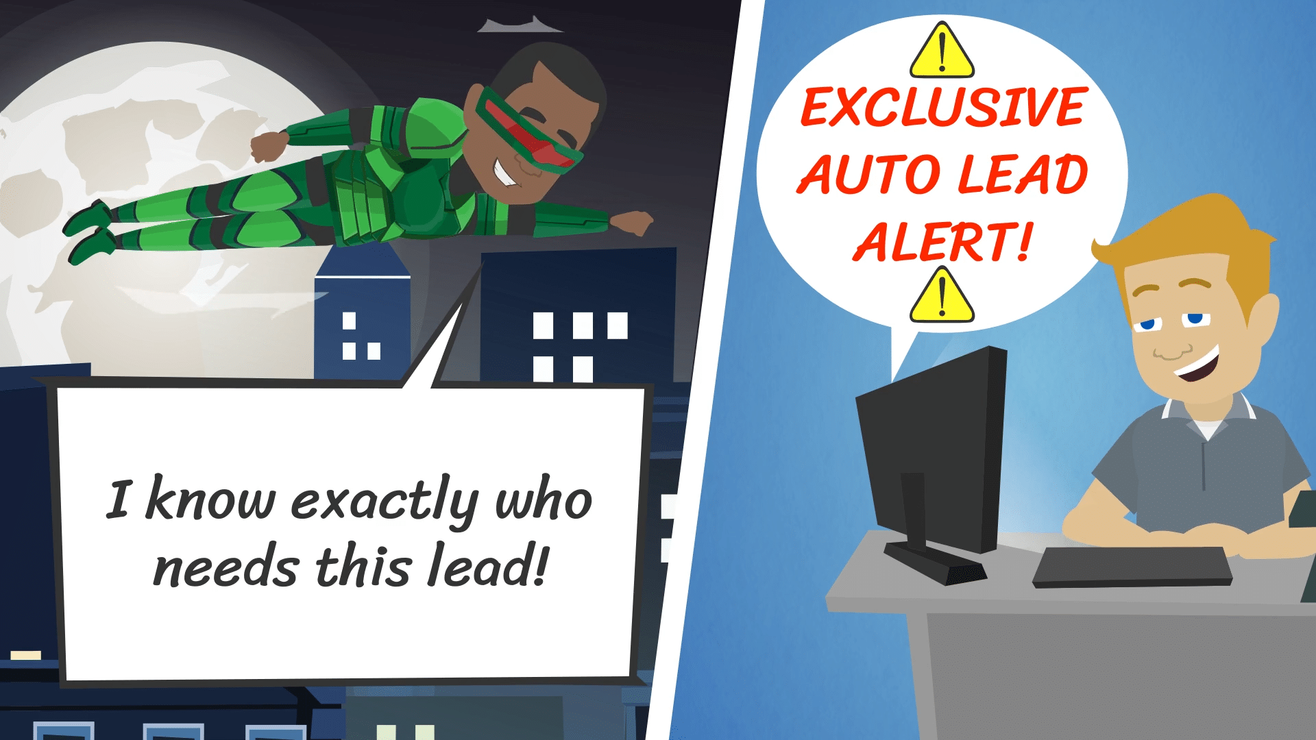 Exclusive Auto Lead Alert