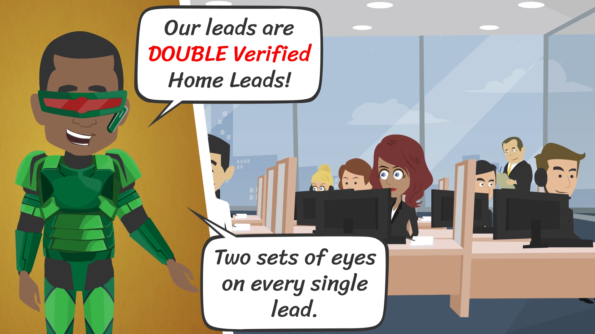 Double Verified Home Lead Provider